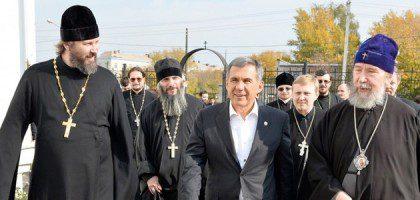 Визит в КазПДС Президента Татарстана