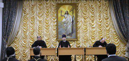 Ректор КазДС возглавил собрание руководителей епархиальных отделов Казанской епархии