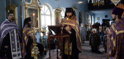 Служба стояния Марии Египетской в храме при Казанской духовной семинарии