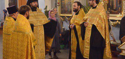 Собор Казанских святых (17.10.2014)