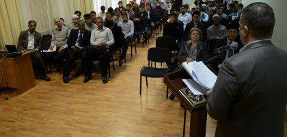 Представители КазДС посетили конференцию в Российском исламском институте