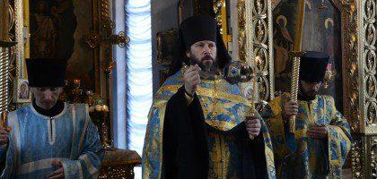 Воскресное богослужение в КазДС