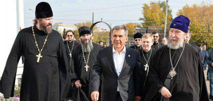 Визит Президента Республики Татарстан в КазПДС