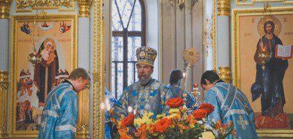 Хор КазПДС принял участие в архиерейском богослужении в Свияжске