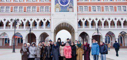 Визит молодежного хора КазПДС в Йошкар-Олу (30.11.2014)