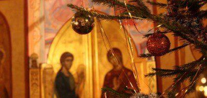 В Казанской духовной семинарии совершено традиционное новогоднее молебное пение