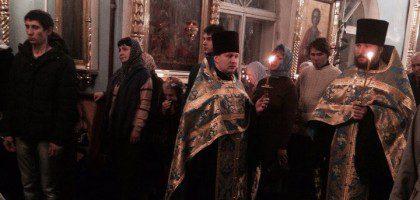 Богослужение в честь праздника Введения во Храм Пресвятой Богородицы