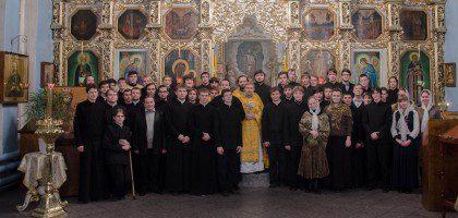 Новый год в Казанской православной духовной семинарии