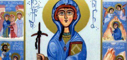 В день святой Нины, просветительницы Грузии, в Казанской духовной семинарии будет отслужена Литургия на грузинском языке
