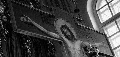 Первая в этом году Пассия совершена в храме при Казанской православной духовной семинарии