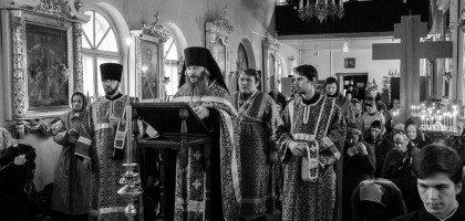 В храме КазПДС совершено «Мариино стояние»