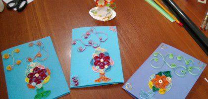 22 марта в КазПДС прошел мастер класс по изготовлению пасхального подарка