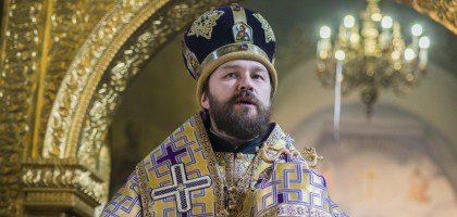 Слово митрополита Волоколамского Илариона в Благовещенском соборе Казанского Кремля в Неделю пятую Великого поста