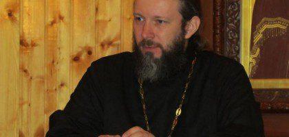 Ректор КазПДС игумен Евфимий (Моисеев) встретился с воспитанниками Курской духовной семинарии