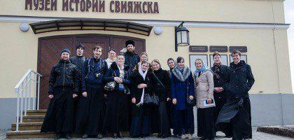 Студенты КазПДС и студентки РКО на экскурсии в Свияжске