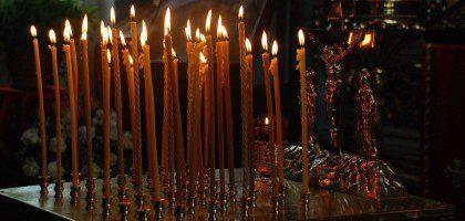 В храме Казанской семинарии совершены богослужения Радоницы