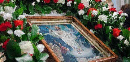 Христос Воскресе! В Духовной семинарии торжественно встретили праздник Пасхи