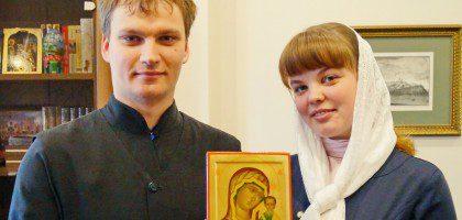 Ректор КазДС благословил на брак студента семинарии и студентку РКО