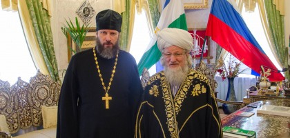Ректор Духовной семинарии встретился в Уфе с Верховным муфтием России