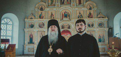 Старший помощник проректора по воспитательной работе встретился с епископом Глазовским и Игринским Виктором