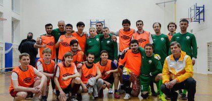 19. 05. 15 в Казанской семинарии произошла встреча со ветеранами футбольного клуба «Рубин» и студентами РИИ