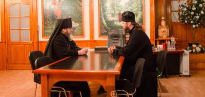 Ректор КазПДС  встретился с епископом Ижевским и Удмуртским Викторином