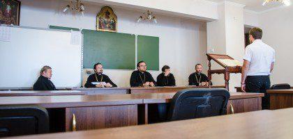 12.08.15 Второй день экзаменов в КазПДС. Катехизис.