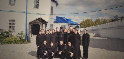 Студенты КазПДС посетили Раифский Богородицкий мужской монастырь 7.09.2015