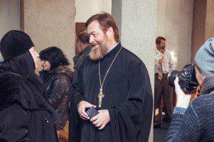 Генеральный директор кинофестиваля протоиерей Александр Акулов
