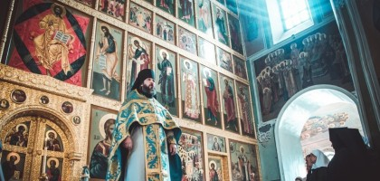 Проповедь первого проректора КазПДС игумена Евфимия (Моисеева) в праздник иконы Божией Матери «Всех скорбящих Радость»