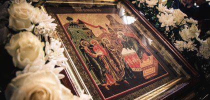 Праздничное богослужение в Казанской семинарии