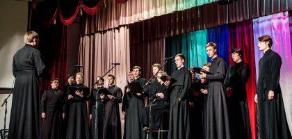 Хор Казанской семинарии принял участие во Всероссийском конкурсе творческих дарований