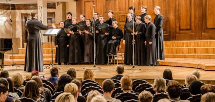 Студенты КазПДС приняли участие в открытом фестивале хоровой музыки имени С.В.Смоленского в Казани