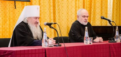 В Казанской семинарии с лекцией выступил профессор Санкт Петербургской духовной академии