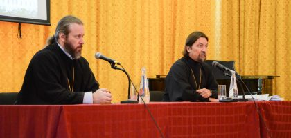 В Казанской семинарии выступил с лекциями протоиерей Максим Козлов