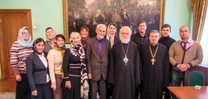 Преподаватели Казанской семинарии совершили паломническую поездку в Свято-Троицкую Сергиеву Лавру