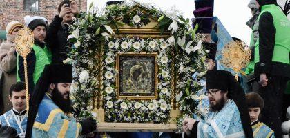 Студенты КазПДС приняли участие в торжествах, посвященных празднику Казанской иконы Божией матери