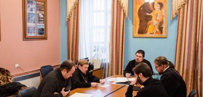 В Казанской семинарии состоялись заседания кафедр Общей и церковной истории и Церковно-практических дисциплин