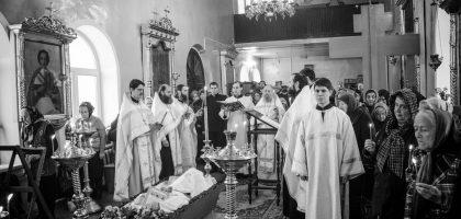 В Казанской семинарии простились с новопреставленным архимандритом Афанасием (Зайцевым)