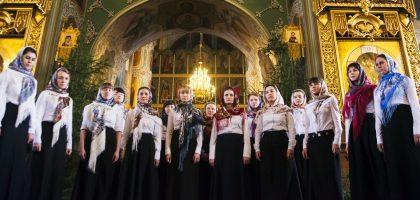 Хор Регентско-катехизаторского отделения принял участие в Рождественском фестивале духовной музыки