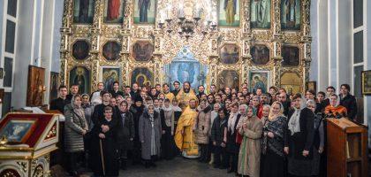 Казанская семинария молитвенно встретила гражданское новолетие