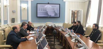 18 января состоялось рабочее совещание между представителями администрации Казанской духовной семинарии и Казанского федерального университета