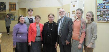 Делегация регентско-катехизаторского отделения Казанской духовной семинарии приняла участие в работе XXV Международных Рождественских чтений в Москве
