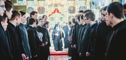 Визит в Казанскую семинарию епископа Чистопольского и Нижнекамского Пармена