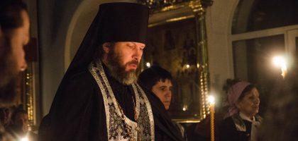 Служба Стояние Марии Египетской в Казанской Семинарии