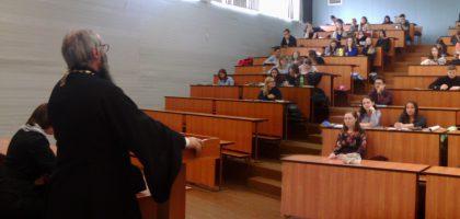 Доцент кафедры Исламоведения Казанской Семинарии иеромонах Роман (Модин) провел лекцию в КГАСУ