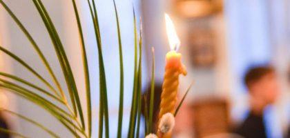 Духовная семинария встретила праздник Вход Господень в Иерусалим