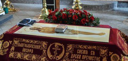В Казанской семинарии совершены великопостные богослужения с выносом и погребением Плащаницы