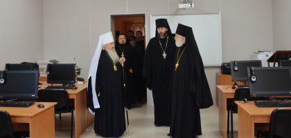 Визит председателя Учебного комитета Русской Православной Церкви в Казанскую семинарию