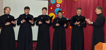 Хор Казанской семинарии принял участие в вечере памяти митрополита Казанского и Свияжского Вениамина